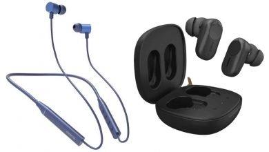 Nokia ANC T3110 and Nokia T2000 Wireless Earphones