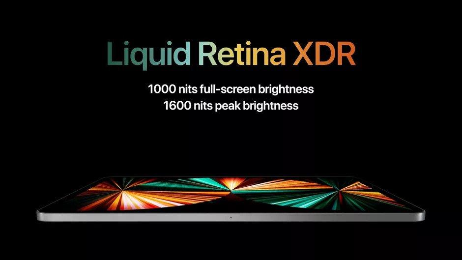 iPad Pro Liquid Retina Display XDR