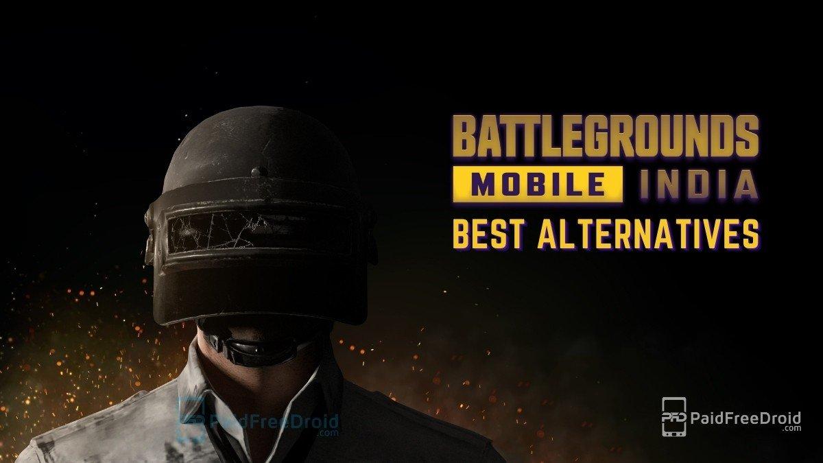 Battlegrounds Mobile India Alternatives