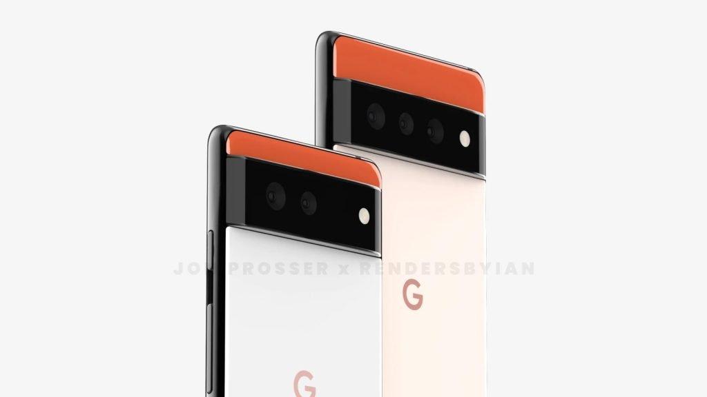 Google Pixel 6 and Google Pixel 6 Pro Radical New Design
