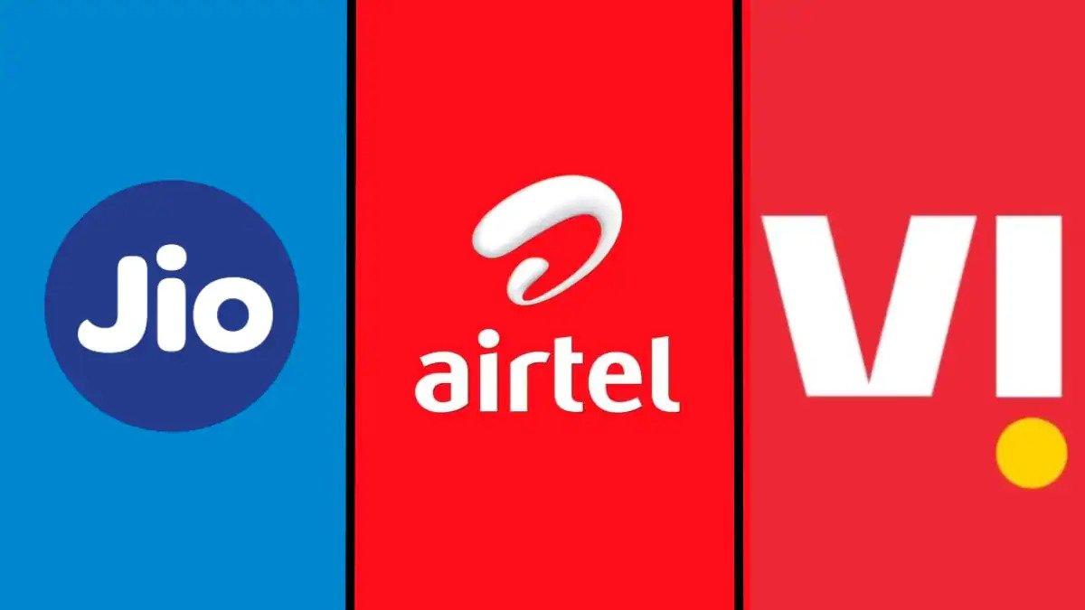 Jio vs Airtel vs VI