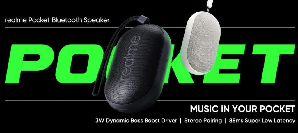Realme Pocket Bluetooth Speakers