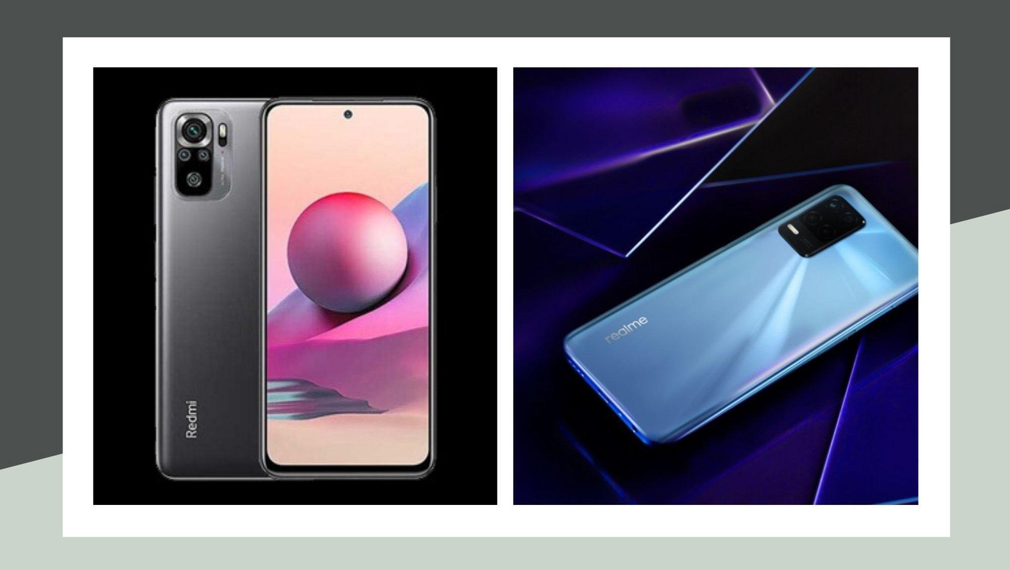 Redmi Note 10S vs Realme 8 5G
