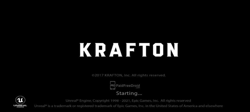 BGMI Krafton Starting
