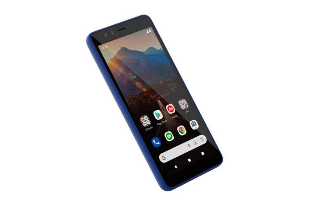 JioPhone Next Blue
