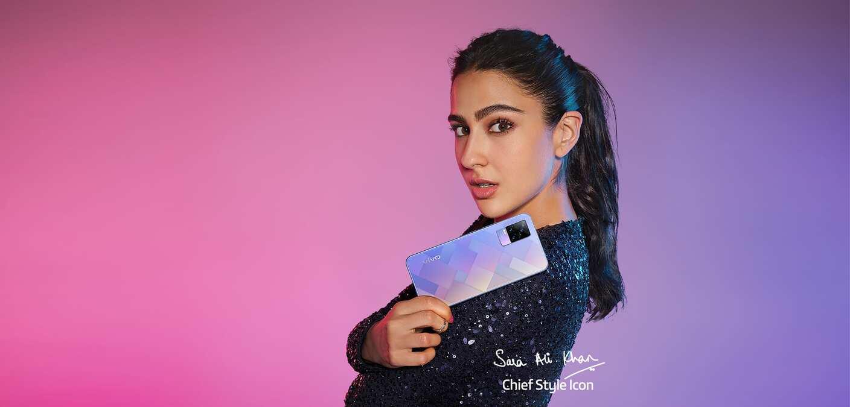 Vivo Y73 India Sara Ali Khan