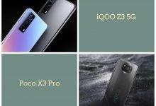 iQOO Z3 5G Vs Poco X3 Pro: Price, Specifications, And Design Compared