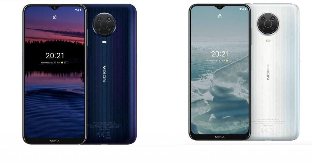 Nokia G20 Color Variants