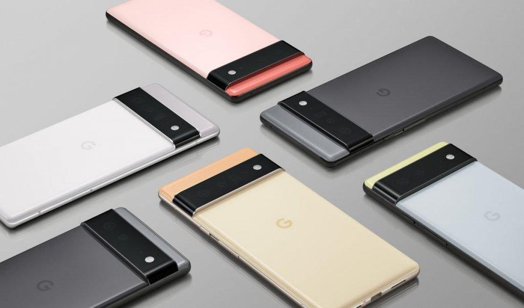 Google Pixel 6 and Pixel 6 Pro Official Renders