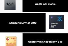 A15 Bionic Vs Exynos 2100 Vs Snapdragon 888